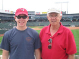 David and John at Dell Diamond