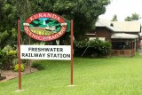 Embarkation point for Kuranda Railway