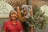 Ginny and a koala