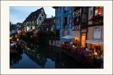 Colmar la nuitla petite Venise