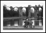 Chateau de Maintenonvieux couple romantique