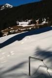 randonnée au-dessus de Silbertal