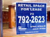 Recession - Signs in Manhattan