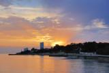La Rochelle. Sunset