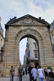 Bordeaux. Porte Dijaux and Place Gambetta