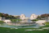 Palais de Chaillot and Jardins du Trocadero