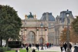 Paris. Jardin du Carrousel and Jardin des Tuileries