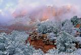 Clearing storm, Schnebly Hill, Sedona, AZ