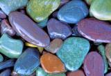 Beach pebbles, Lake McDonald Glacier National Park, MT