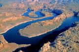 San Juan River as it enters Lake Powell, AZ
