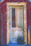 Door, Bodie State Park, CA