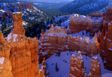 Winter along the Navajo Loop Trail, Bryce Canyon National Park, UT