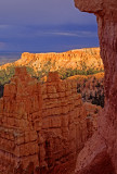 Lighted Cliff, Bryce Canyon National Park, UT
