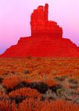 Three Fingered Jack, Monument Valley, Navajo Tribal Park, AZ/UT