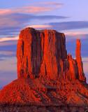 West Mitten, Monument Valley, Navajo Tribal Park, AZ/UT