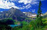 Mount Gould and Grinell Lake, Glacier National Park, MT