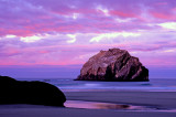 Sunrise at Face Rock, Bandon Beach, Bandon, OR