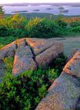 (CG32) Porcupine Islands, roche moutonnees, Acadia National Park, ME