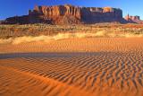 (STRA45) Asymmetrical ripple marks, Monument Valley, AZ