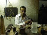 Making a Kartush- Egyptian Factory