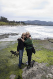 Future Grandma visits us on the Monterey Peninsula