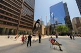 Daley Plaza at Noon