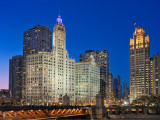 Wrigley and Chicago Tribune Buildings