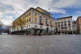 Morning at Piazza della Riforma
