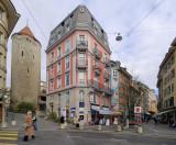 View from Rue du Maupas at Rue de l'Ale