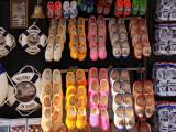 Tourist wooden shoes