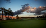 Evening Falls on the Sixth Green