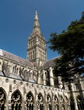 Salisbury Cathedral - great marvel of the medieval age