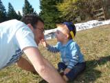 Teasing uncle Minas