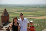 Aunt Rous with my cousins Kevork & Ashod