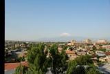 Mounth Ararat, seen from moms window