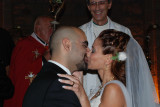 Herewith I announce you man and wife. You may kiss the bride.