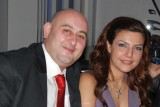 Harout with his fiance