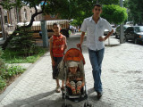 With my cousins Ashot and Gevork