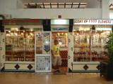 Souvenir shops near the shore