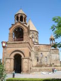 St. Etchmiadzin, the oldest church of the Union. 303 AD.