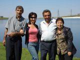 mom dad and uncle Arakel in Arakaz