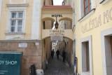 Bratislava, a side road