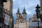 The old city hall with theChruch to our Lady before Týn