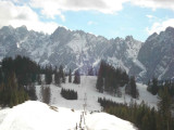 Dachstein massive with its 3003m pick
