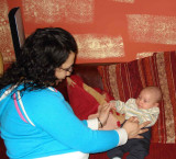aunti Shoghig tickling me