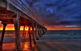 jetty sunset