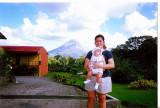 Mami & Tammy, Arenal Volcano  2002