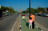 Central Avenue, Vientiane Laos 2006
