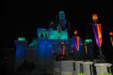 Magical Castle by Night  - Hong Kong Disney 2007