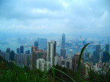 Hong Kong seing from Victoria's Peak - 2006